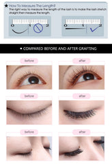 16rows/case 7~15mm eyelash extension