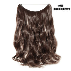 BENEHAIR Invisible Wire No Clips Hair Extensions