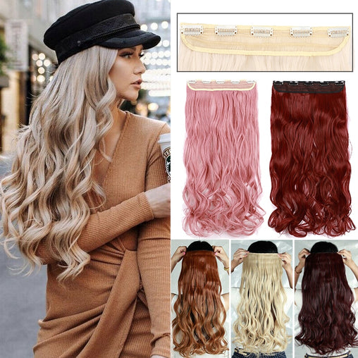 "BENEHAIR 24"" Clips In Hair Extension - powermakeup"