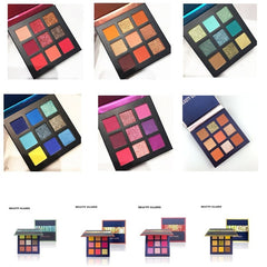 9 Color Shimmer Pigmented Eye Shadow Palette