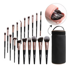 MAANGE Makeup Brushes with Natural Hair - powermakeup