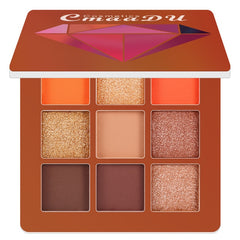9 Colors Nude Eyeshadow Kit Matte Glitter