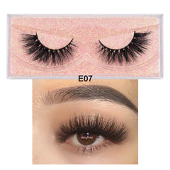 Handmade Reusable Natural Eyelashes