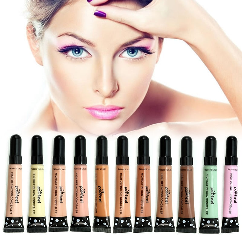 12 Colors Makeup Liquid Concealer - powermakeup