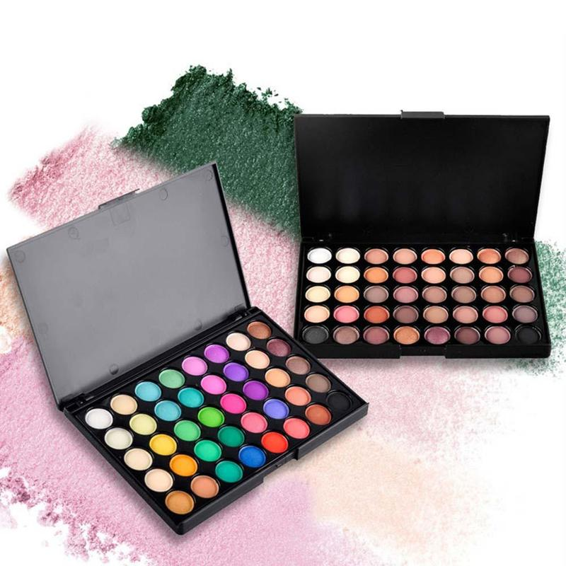 40 Color Palette Matte Shiny Eyeshadow Glitter