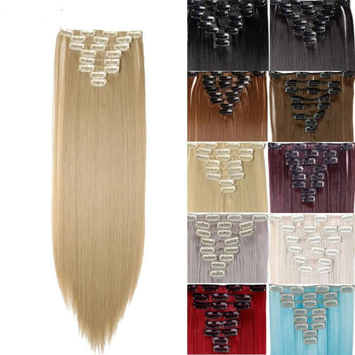 26inch 8pcs/set Hair Extensions - powermakeup