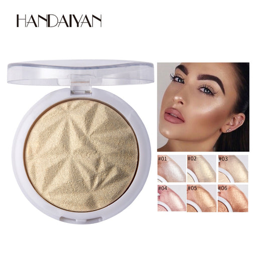 6 Color Available Makeup Highlighter