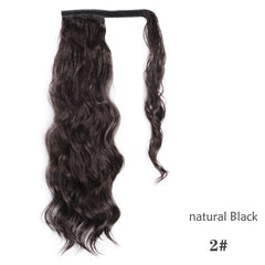 Long Ponytail Synthetic Hair Extensions
