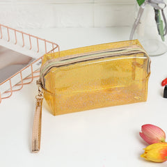 Laser Design Transparent Makeup Bag