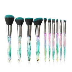 Diamond Makeup Brush Set - powermakeup
