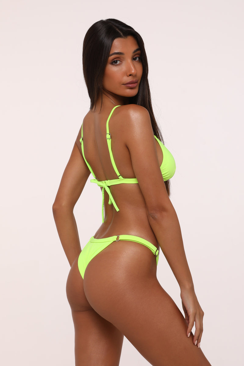 Neon Lima Eliyana Top Adjustable bottom