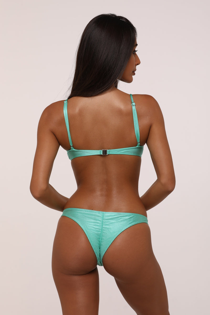 Eden Apple Brazilian Bikini Set - Melanie Top Eve Bottom