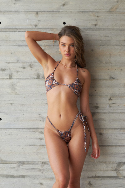 Bali Set - Babe Top, One side tie Bottom