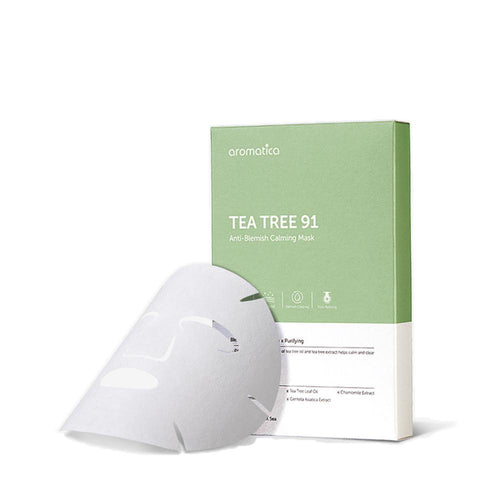 Aromatica Tea Tree 91 Anti-Blemish Calming Sheet Mask