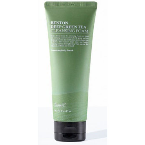 Deep Green Tea Cleansing Foam Benton