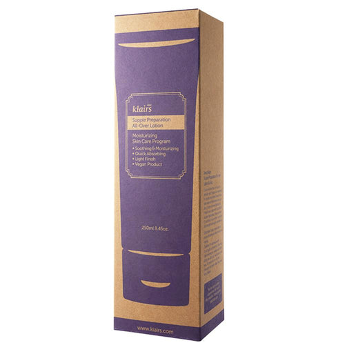 Klairs Supple Preparation All-Over Lotion Packaging