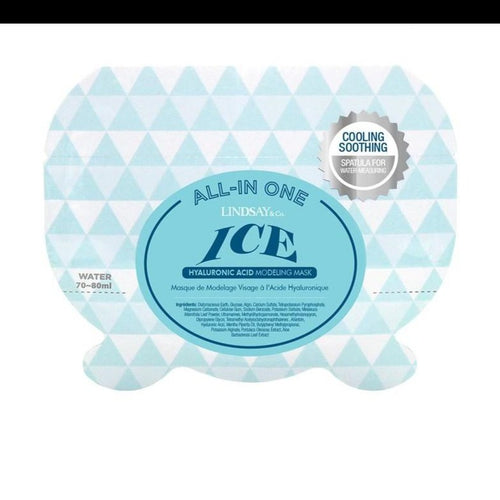 10 Pack - Ice Hyaluronic Modelling Rubber Mask Lindsay