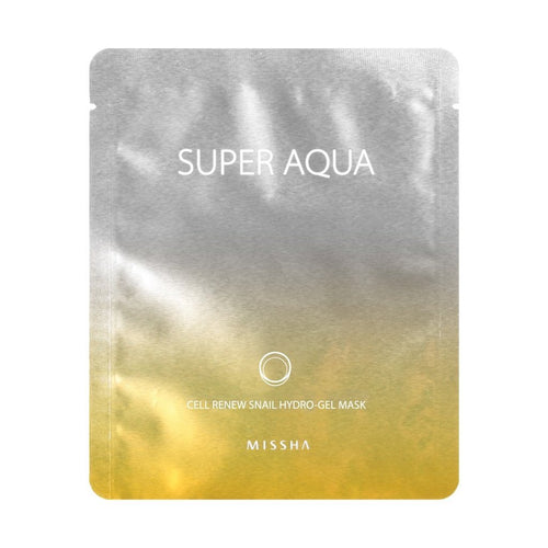 Super Aqua Cell Renew Snail Hydro Gel Mask Missha