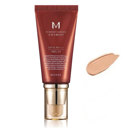Missha Perfect Cover BB Cream 21;Missha Perfect Cover BB Cream 23;Missha Perfect Cover BB Cream 27