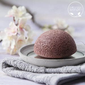 Konjac Sponge Red Clay;;;