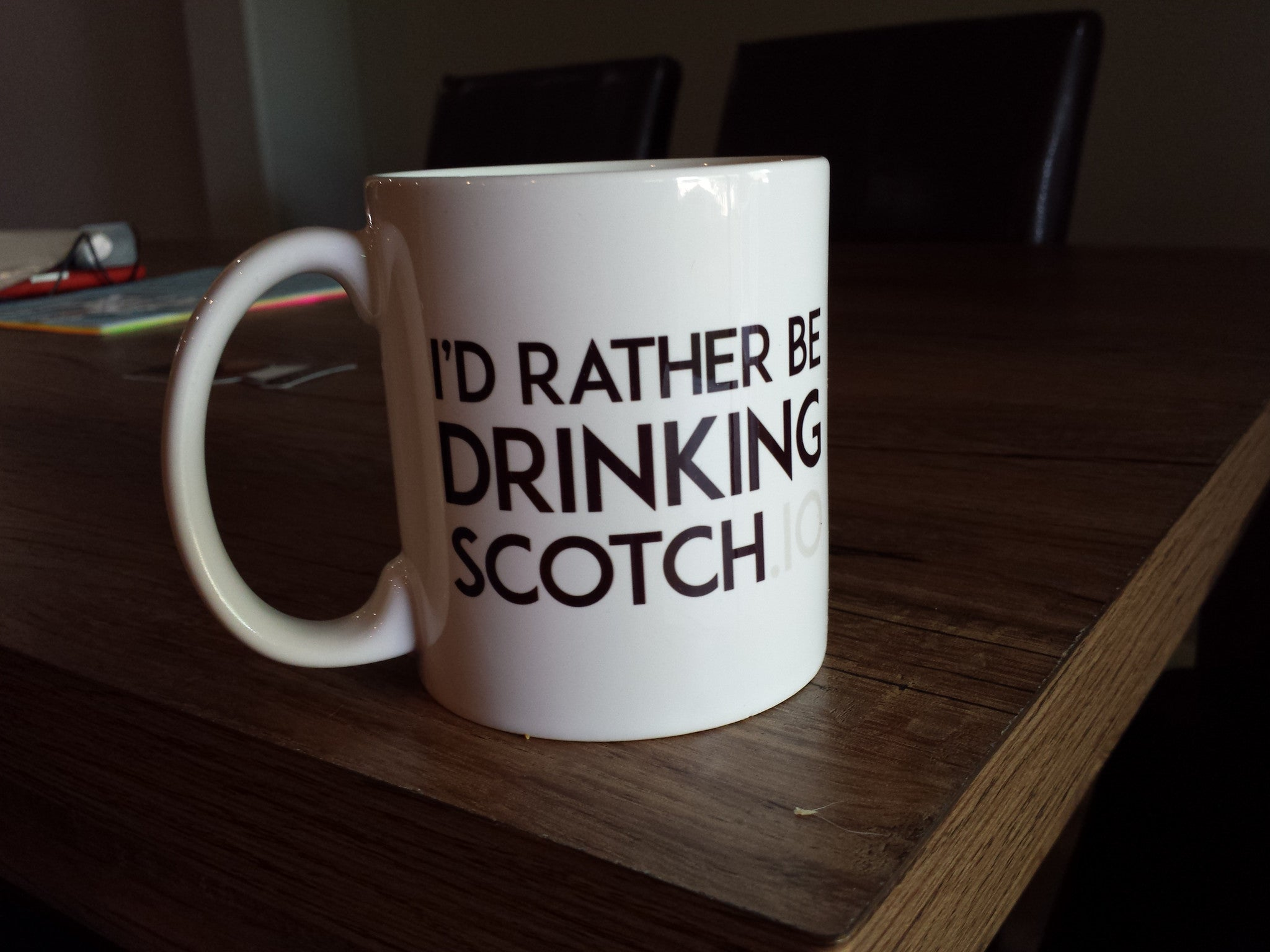 I'd Rather Be Drinking Scotch Coffee Mug