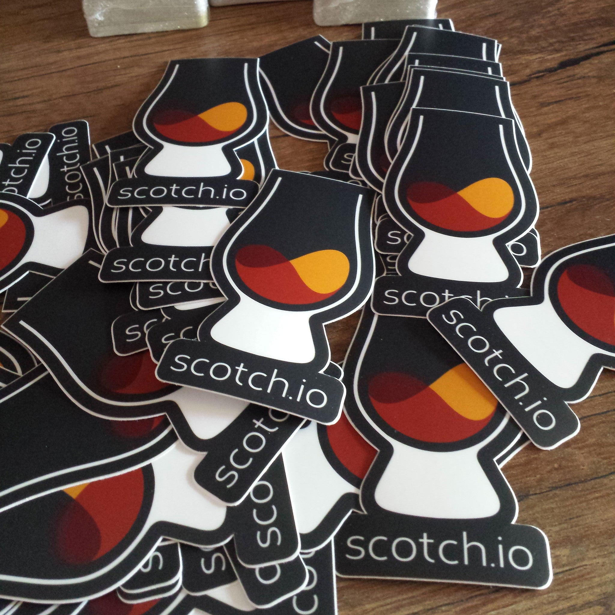Scotch.io Die Cut Sticker (Pack of 3)