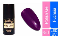 Easy Color LED/UV Polish Gel, Hybridlack, Soak Off Gel ablösbar- Fuchsia 6 ml