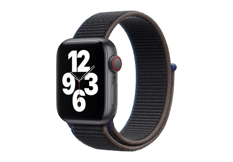 Watch SE Space Grey Aluminium Case with Charcoal Sport Loop - GPS & Cellular