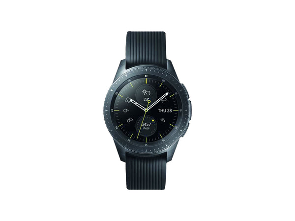 Galaxy 42mm Watch - Black with Black Strap