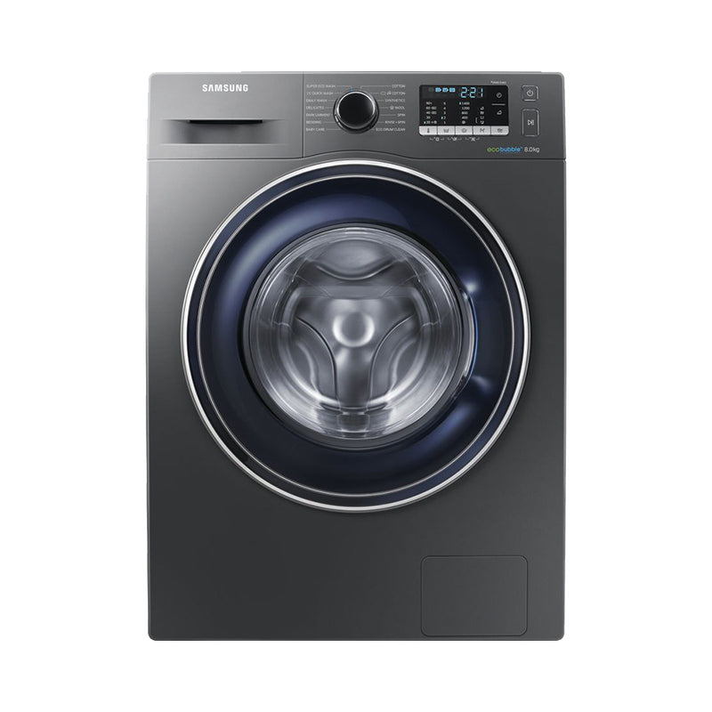 WW80J5555FX Washing Machine with ecobubble, 8kg