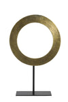 Circular Raw Bronze Ornament
