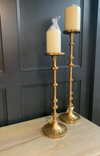 Gold Deco Tall Candle