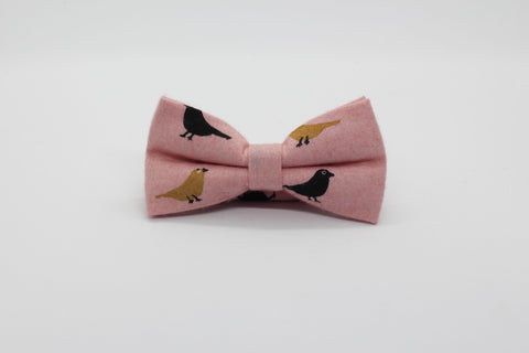The Pink Robin (Bow Tie)