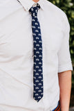 Skinny Bicycle Necktie