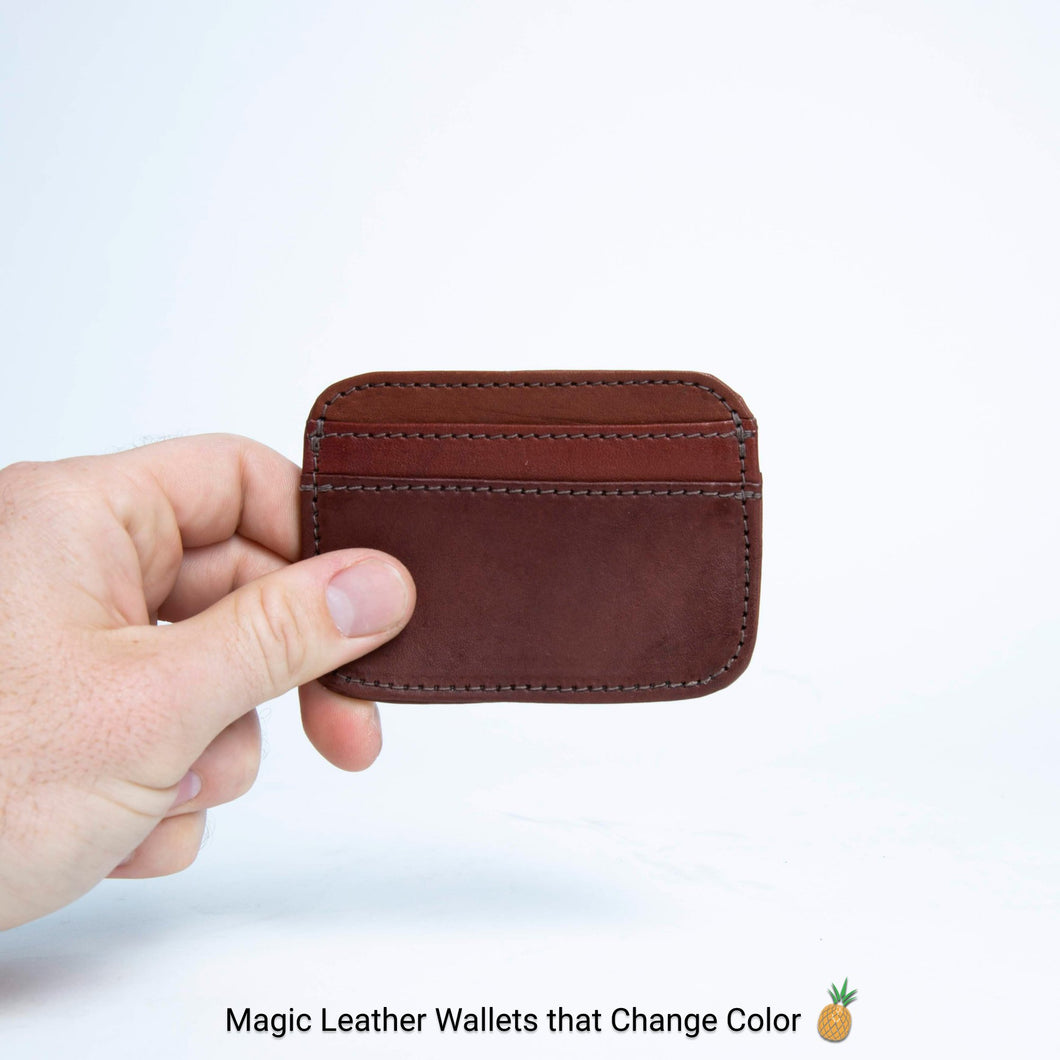 Ladrillo | Front Pocket Leather Card Wallet