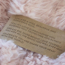Load image into Gallery viewer, GUARDIAN ANGEL BLANKET | LITTLE - DUSTY PINK