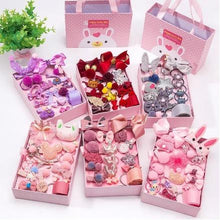 Load image into Gallery viewer, Kids Hair Accessories Gift Box - 18Pcs - Gift Set