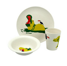Load image into Gallery viewer, KIDS DINNER SET - HUNGRY - set of 3