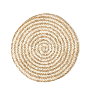 Kata Spiral Placemat - Natural (Set of 4)