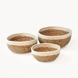 Savar Round Bowl (Set of 3)