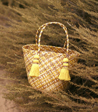 Load image into Gallery viewer, Coco Palm Straw Bag - Lemonade