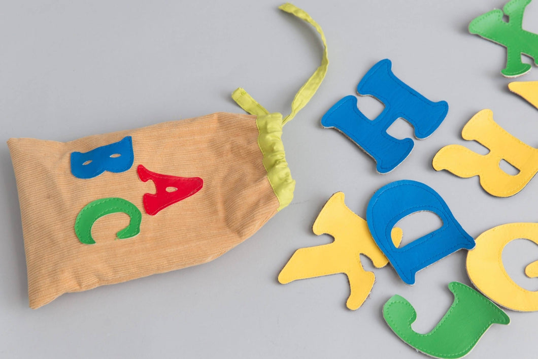English Alphabet Bag