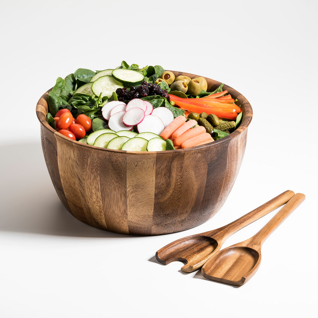 Soro Xtra Large Salad Bowl with Servers