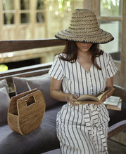 Load image into Gallery viewer, Atta Diana Rattan Bag