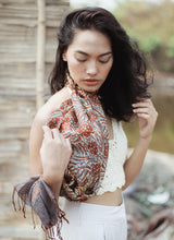 Load image into Gallery viewer, Cempaka Silk Batik Scarf