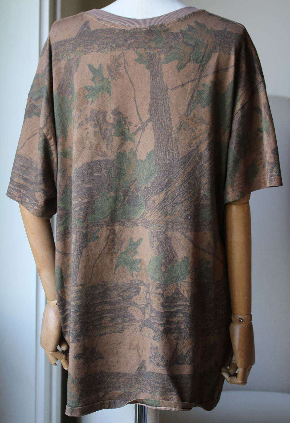YEEZY SEASON 4 CAMO COTTON T-SHIRT MEDIUM