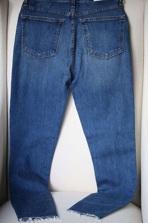 RE/DONE LEVI'S HIGH-RISE DENIM JEANS W27 UK 8/10