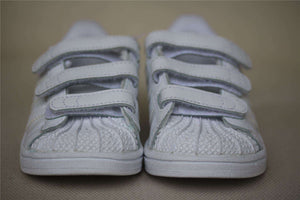 ADIDAS ORIGINALS SUPERSTAR KIDS WHITE TRAINERS EU 25 UK 7.5K US 8K