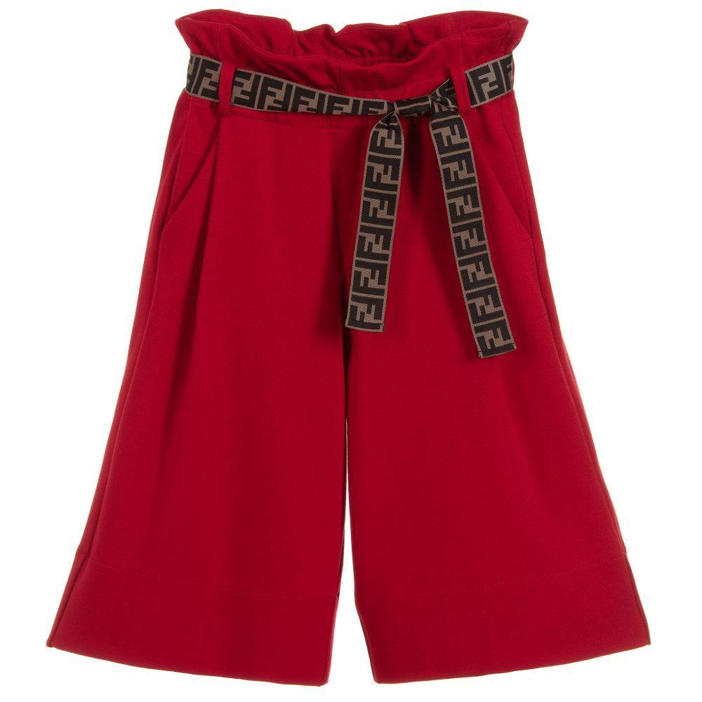 FENDI KIDS GIRLS MILANO JERSEY CULOTTES 4 YEARS