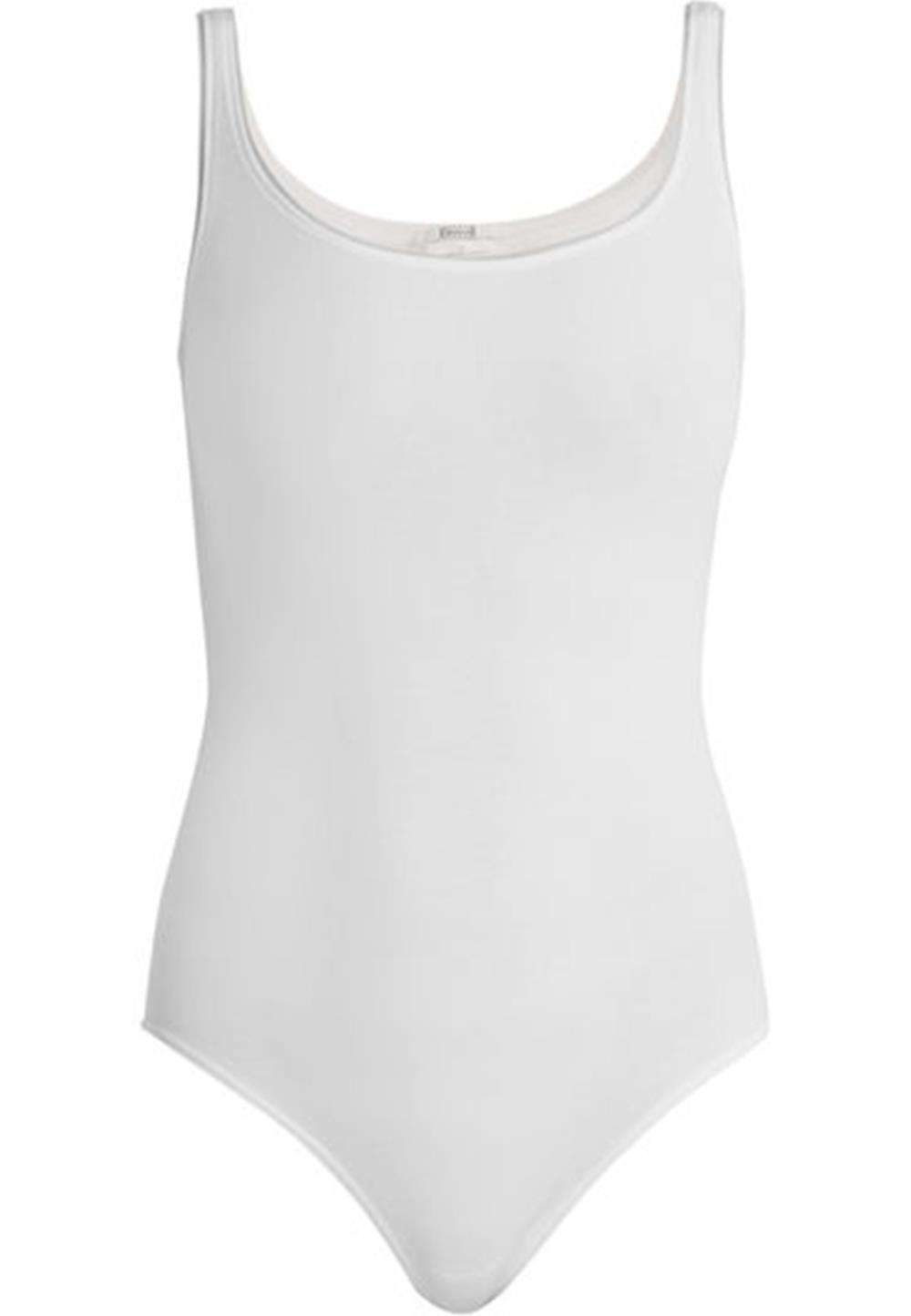 WOLFORD JAMAIKA STRETCH JERSEY THONG BODYSUIT SMALL